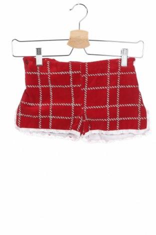 Детски къс панталон Foque, Размер 3-4y/ 104-110 см, Цвят Червен, Памук, Цена 13,60лв.