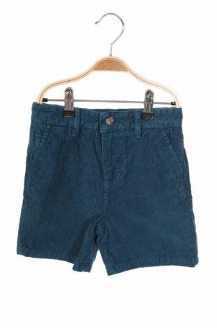 Παιδικό κοντό παντελόνι Gocco, Μέγεθος 5-6y/ 116-122 εκ., Χρώμα Μπλέ, Βαμβάκι, Τιμή 7,84€