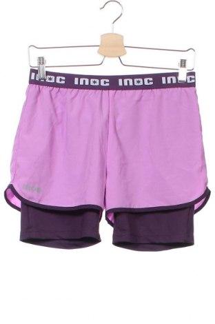 Детски къс панталон Inoc, Размер 12-13y/ 158-164 см, Цвят Лилав, Полиестер, Цена 16,80лв.