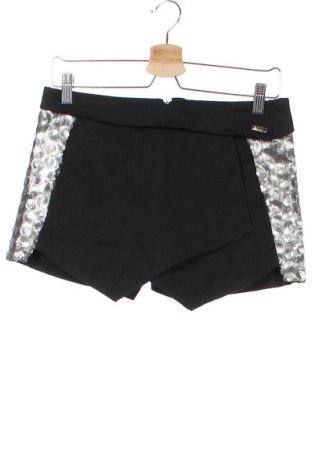 Παιδικό κοντό παντελόνι Krizia, Μέγεθος 15-18y/ 170-176 εκ., Χρώμα Μαύρο, 97% βαμβάκι, 3% ελαστάνη, Τιμή 3,12€