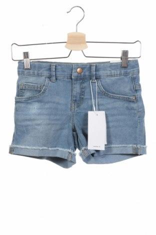 Παιδικό κοντό παντελόνι Name It, Μέγεθος 9-10y/ 140-146 εκ., Χρώμα Μπλέ, 79% βαμβάκι, 20% πολυεστέρας, 1% ελαστάνη, Τιμή 13,92€