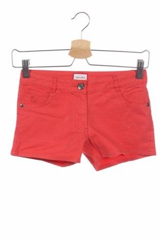 Παιδικό κοντό παντελόνι Neck & Neck, Μέγεθος 9-10y/ 140-146 εκ., Χρώμα Πορτοκαλί, 98% βαμβάκι, 2% ελαστάνη, Τιμή 13,89€