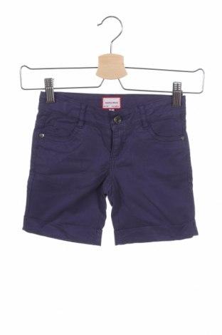 Παιδικό κοντό παντελόνι Neck & Neck, Μέγεθος 4-5y/ 110-116 εκ., Χρώμα Μπλέ, 98% βαμβάκι, 2% ελαστάνη, Τιμή 13,89€