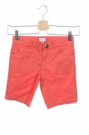Παιδικό κοντό παντελόνι Neck & Neck, Μέγεθος 6-7y/ 122-128 εκ., Χρώμα Πορτοκαλί, 98% βαμβάκι, 2% ελαστάνη, Τιμή 13,89€