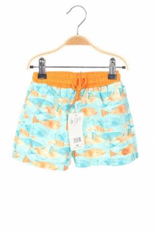 Παιδικό κοντό παντελόνι Tutto Piccolo, Μέγεθος 18-24m/ 86-98 εκ., Χρώμα Πολύχρωμο, Πολυεστέρας, Τιμή 13,07€