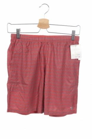 Παιδικό κοντό παντελόνι Wilson, Μέγεθος 9-10y/ 140-146 εκ., Χρώμα Πορτοκαλί, 86% πολυεστέρας, 14% ελαστάνη, Τιμή 14,74€