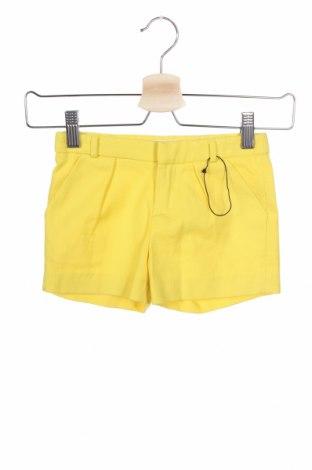 Παιδικό κοντό παντελόνι Zara Kids, Μέγεθος 3-4y/ 104-110 εκ., Χρώμα Κίτρινο, Βαμβάκι, Τιμή 11,13€