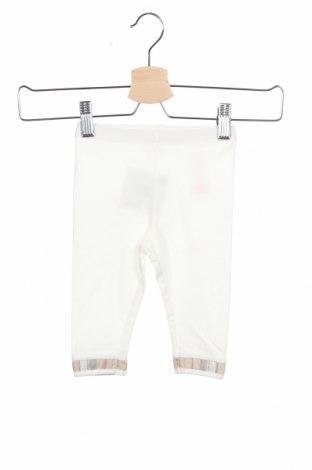 Детски клин Burberry Kids, Размер 3-6m/ 62-68 см, Цвят Бял, 95% памук, 5% еластан, Цена 51,84лв.