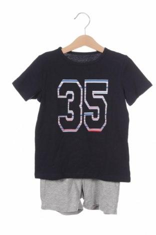 Детски комплект Name It, Размер 2-3y/ 98-104 см, Цвят Син, 85% памук, 10% вискоза, 5% еластан, Цена 25,30лв.