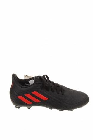 Детски обувки Adidas, Размер 34, Цвят Черен, Еко кожа, Цена 32,34лв.
