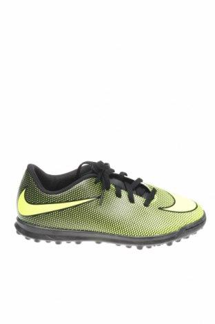 Детски обувки Nike, Размер 36, Цвят Зелен, Еко кожа, Цена 49,17лв.