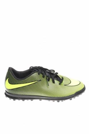 Детски обувки Nike, Размер 37, Цвят Зелен, Еко кожа, Цена 49,17лв.