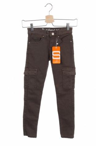 Pantaloni pentru copii Staccato, Mărime 8-9y/ 134-140 cm, Culoare Verde, 83% bumbac, 15% poliester, 2% elastan, Preț 113,49 Lei