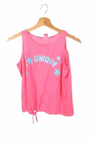 Μπλουζάκι αμάνικο παιδικό Here+There, Μέγεθος 12-13y/ 158-164 εκ., Χρώμα Ρόζ , Βαμβάκι, Τιμή 8,83€