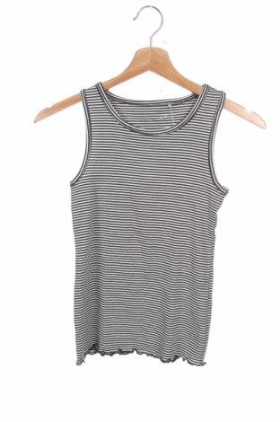 Μπλουζάκι αμάνικο παιδικό Next, Μέγεθος 7-8y/ 128-134 εκ., Χρώμα Λευκό, 95% βαμβάκι, 5% ελαστάνη, Τιμή 6,75€