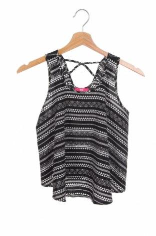 Μπλουζάκι αμάνικο παιδικό Yd, Μέγεθος 12-13y/ 158-164 εκ., Χρώμα Μαύρο, Πολυεστέρας, Τιμή 7,17€