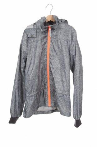 Παιδικό αθλητικό μπουφάν H&M Sport, Μέγεθος 11-12y/ 152-158 εκ., Χρώμα Γκρί, Πολυεστέρας, Τιμή 12,53€