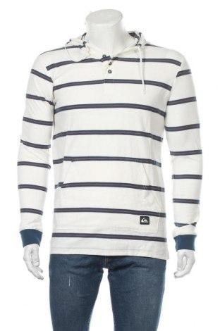 Ανδρική μπλούζα Quiksilver, Μέγεθος M, Χρώμα Λευκό, Βαμβάκι, Τιμή 18,85€