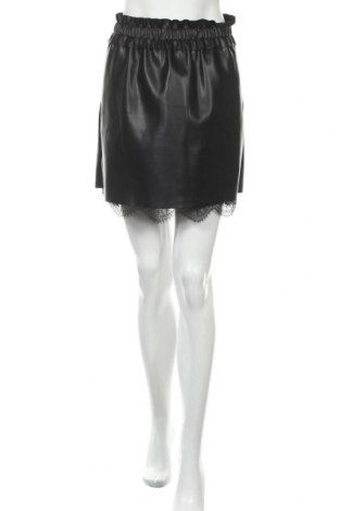 Δερμάτινη φούστα Yfl Reserved, Μέγεθος S, Χρώμα Μαύρο, Δερματίνη, Τιμή 14,25€