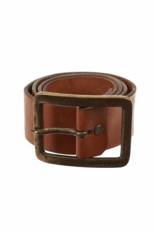 Колан Jack & Jones, Цвят Кафяв, Естествена кожа, Цена 22,68лв.