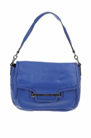 Дамска чанта Coach, Цвят Син, Естествена кожа, Цена 89,46лв.