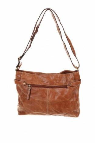 Дамска чанта Colorado, Цвят Кафяв, Естествена кожа, Цена 25,99лв.