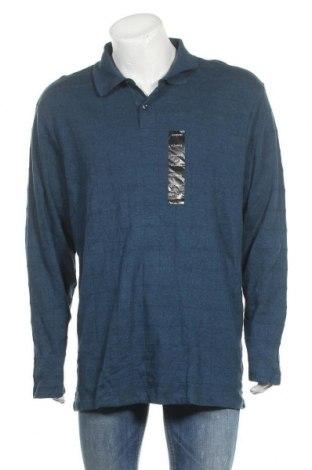 Ανδρική μπλούζα Alfani, Μέγεθος XL, Χρώμα Μπλέ, Βαμβάκι, Τιμή 19,87€