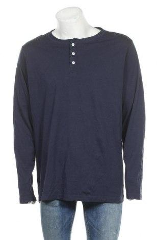 Ανδρική μπλούζα Ellos, Μέγεθος 3XL, Χρώμα Μπλέ, Βαμβάκι, Τιμή 11,04€