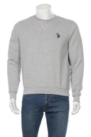 Ανδρική μπλούζα U.S. Polo Assn., Μέγεθος M, Χρώμα Γκρί, 90% βαμβάκι, 10% βισκόζη, Τιμή 29,92€