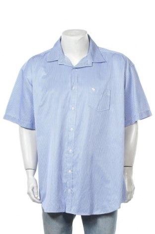 Ανδρικό πουκάμισο Abercrombie & Fitch, Μέγεθος 4XL, Χρώμα Μπλέ, 95% βαμβάκι, 5% πολυεστέρας, Τιμή 15,43€