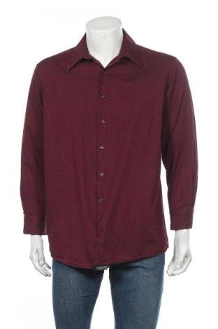 Ανδρικό πουκάμισο Alfani, Μέγεθος L, Χρώμα Κόκκινο, Βαμβάκι, Τιμή 9,94€