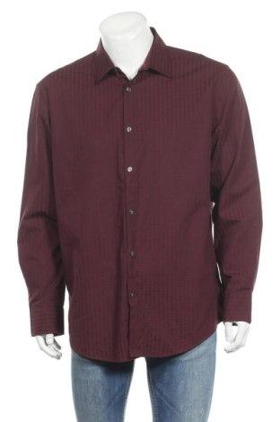 Ανδρικό πουκάμισο Alfani, Μέγεθος XL, Χρώμα Κόκκινο, Βαμβάκι, Τιμή 11,72€
