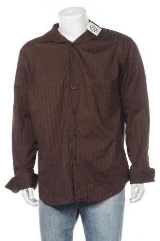 Ανδρικό πουκάμισο Alfani, Μέγεθος L, Χρώμα Καφέ, Βαμβάκι, Τιμή 12,34€