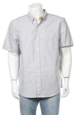 Ανδρικό πουκάμισο American Eagle, Μέγεθος XXL, Χρώμα Γκρί, Βαμβάκι, Τιμή 28,58€