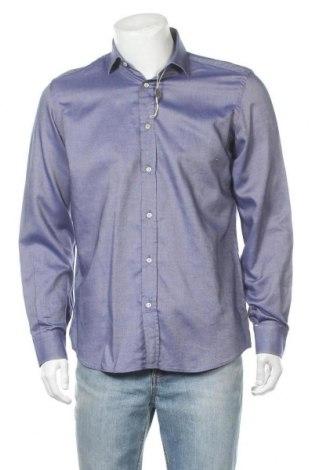 Мъжка риза Antonio Fusco, Размер M, Цвят Лилав, Памук, Цена 14,17лв.