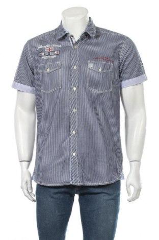 Ανδρικό πουκάμισο Armand Thiery, Μέγεθος L, Χρώμα Μπλέ, Βαμβάκι, Τιμή 8,83€