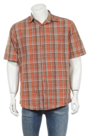 Мъжка риза Canda, Размер M, Цвят Многоцветен, Памук, Цена 17,85лв.