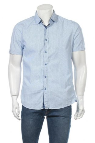 Ανδρικό πουκάμισο Charles Vogele, Μέγεθος L, Χρώμα Μπλέ, Βαμβάκι, Τιμή 11,04€