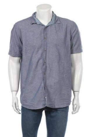 Ανδρικό πουκάμισο Charles Vogele, Μέγεθος XL, Χρώμα Μπλέ, 55% λινό, 45% βαμβάκι, Τιμή 6,43€