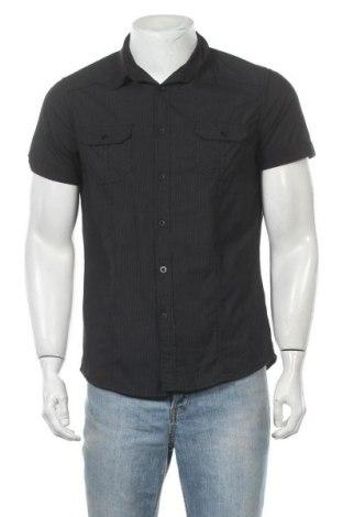 Ανδρικό πουκάμισο Clockhouse, Μέγεθος S, Χρώμα Μαύρο, Τιμή 10,49€