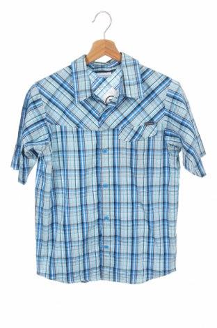 Детска риза Columbia, Размер 11-12y/ 152-158 см, Цвят Син, 66% памук, 30% полиамид, 4% еластан, Цена 26,25лв.