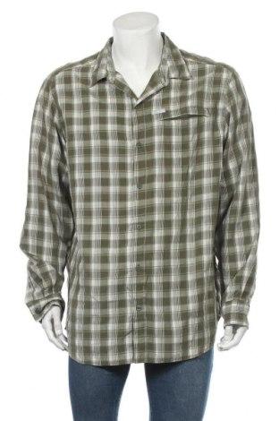Мъжка риза Columbia, Размер XL, Цвят Зелен, 65% модал, 35% полиестер, Цена 31,92лв.
