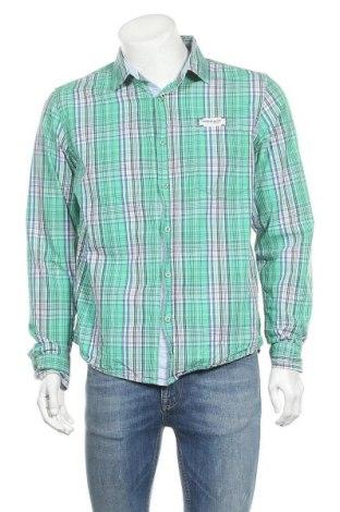 Мъжка риза Cool Code, Размер L, Цвят Зелен, Памук, Цена 14,18лв.