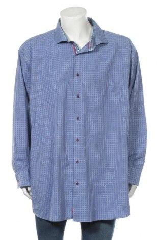 Ανδρικό πουκάμισο Daniel Hechter, Μέγεθος 4XL, Χρώμα Μπλέ, 80% βαμβάκι, 20% άλλα νήματα, Τιμή 25,92€
