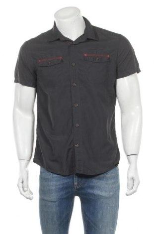 Ανδρικό πουκάμισο Quechua, Μέγεθος M, Χρώμα Γκρί, Πολυαμίδη, Τιμή 8,64€