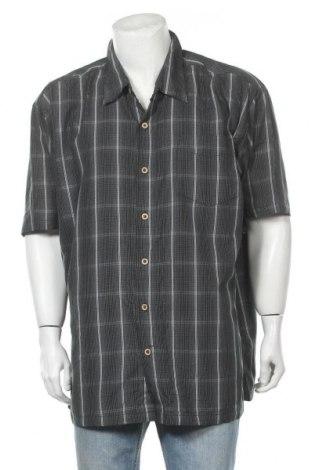 Ανδρικό πουκάμισο Denver Hayes, Μέγεθος 3XL, Χρώμα Γκρί, Πολυεστέρας, Τιμή 9,74€