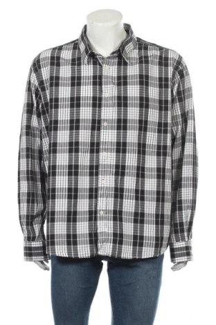 Ανδρικό πουκάμισο Ellos, Μέγεθος 3XL, Χρώμα Λευκό, Βαμβάκι, Τιμή 4,09€