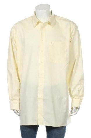 Мъжка риза Eterna, Размер XXL, Цвят Жълт, Памук, Цена 5,51лв.