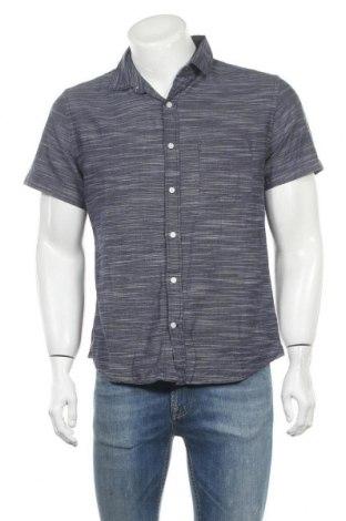 Ανδρικό πουκάμισο Express, Μέγεθος M, Χρώμα Μπλέ, Βαμβάκι, Τιμή 8,83€