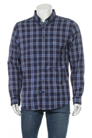 Ανδρικό πουκάμισο Express, Μέγεθος L, Χρώμα Μπλέ, Πολυεστέρας, Τιμή 11,11€